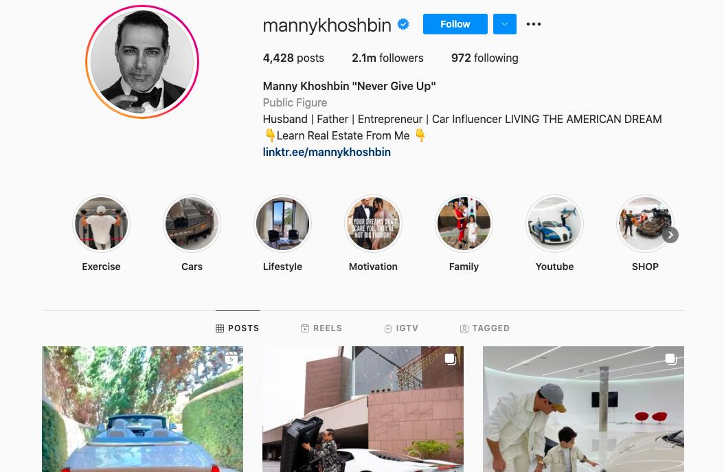 Manny Khoshbin for small business inspiration