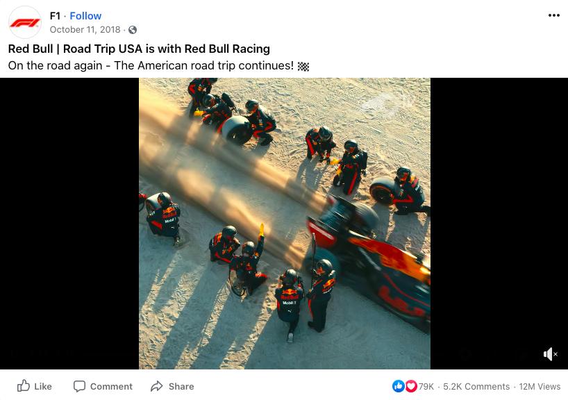Red Bull video (Road trip USA Red Bull Racing)